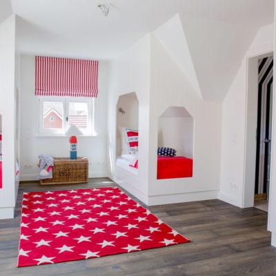Schipperhus Langeoog - Grote Käpt'ns Stuuv - Schlafzimmer 3