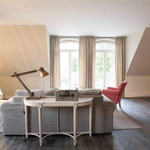 Schipperhus Langeoog - Grote Käpt'ns Stuuv - Wohnzimmer
